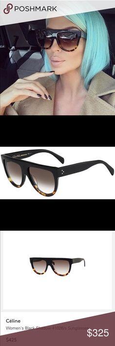 Celine Flat top sunglasses As seen on all celebrities. Worn once. Celine Accessories Sunglasses