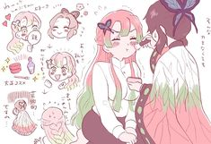 Kimetsu No Yaiba ( Fanart) Anime Chibi, Fanarts Anime, Anime Kawaii, Manga Anime, Demon Slayer, Slayer Anime, Anime Angel, Anime Demon, Character Art
