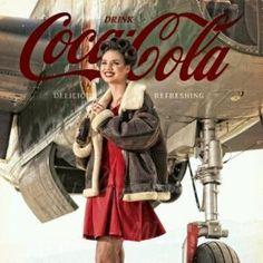 Coca Cola model Coke Ad Coca-Cola #coke by helena