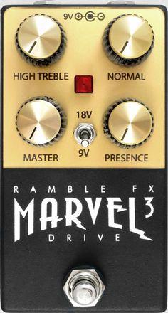 ramble fx marvel drive ver.3