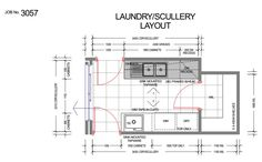 Como - 3057 – Ground floor plan 2 storey house for a custom designed ...