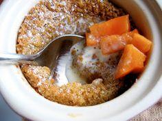 Boozy Persimmon Pudding Recipe — Dishmaps
