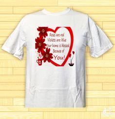 Qutes Valentine Im in love with you Be my Love T-Shirt