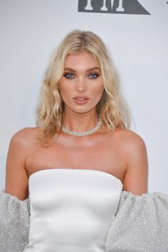 Cannes The best red-carpet beauty looks at the amfAR Gala Red Carpet Makeup, Red Carpet Hair, Jasmine Tookes, Sara Sampaio, Elsa Hosk, Smoky Eye, Kendall Jenner, Makeup For White Dress, Scarlett Leithold