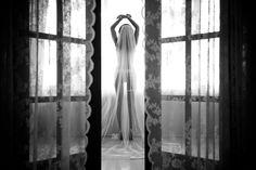 Bridal Boudoir | Bridal Boudoir Veil | Boudoir Wedding Ideas