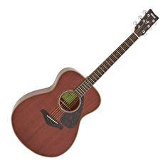 Yamaha All Mahogany Acoustic, main Acoustic, Yamaha, Music Instruments, Guitar, Natural, Musical Instruments, Nature, Guitars, Au Natural