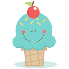 Cute Ice Cream Cone SVG scrapbook cut file cute clipart files for silhouette cricut pazzles free svgs free svg cuts cute cut files