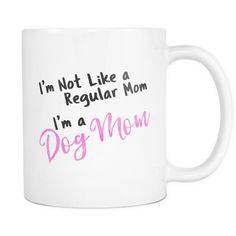 There's moms... and then there are Dog moms. Dog moms pick up poop in a single scoop. They never tire from constant belly rubs. And they wear drool and dog hair with pride. It ain't easy being a dog m