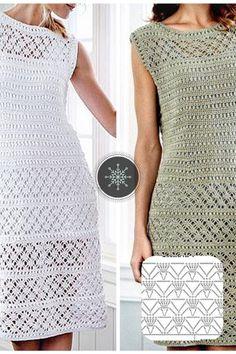 Crochet Wedding Dress Pattern, Crochet Wedding Dresses, Crochet Skirt Pattern, Crochet Blouse, Crochet Lace, Crochet Patterns, Single Crochet Stitch, Crochet Woman, Vintage Knitting