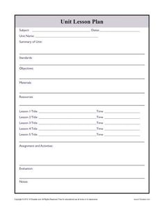 Daily Multi-Subject Lesson Plan Template - Elementary | Homeschool ...