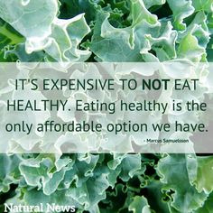 Eating healthy is the best investment you can make! http://www.naturalnews.com