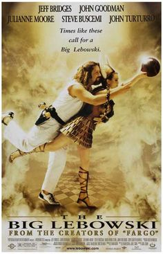 Big Lebowski Times Like These Coen Brothers Movie Poster 11x17