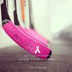 """Pink the Rink It's """"Hockey Fights Cancer """" month in the NHL-show your support! Rink Hockey, Hockey Baby, Hockey Girls, Flyers Hockey, Breast Cancer Walk, Breast Cancer Awareness, Ice Girls, Nhl News, Carolina Hurricanes"""