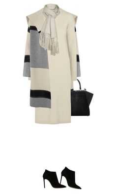"""""""."""" by fashionmonkey1 ❤ liked on Polyvore featuring Vince, Fendi, Helmut Lang, Pistil and Casadei"""