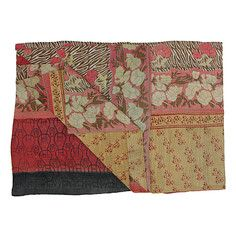 Vintage Kantha Quilt Pink Multi, $99, now featured on Fab.