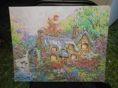 Cottage mill by BsColoredPictures on Etsy