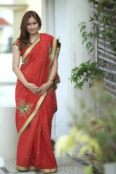 Amazing saree by my dearest friend Shilpa reddy..for Bathukamma festival