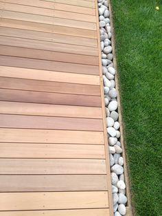 Landscape Design, Garden Design, Yard Edging, Moroccan Garden, Raised Deck, Cedar Deck, Backyard, Patio, Palette