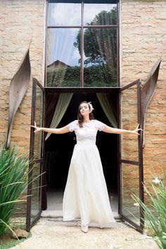 Vestido de Noiva Flower By Chai - O Amor É Simples