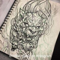 Image result for japanese tattoo illustration