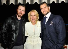 """"""" NEW PHOTOS! Henry Cavill with Chris Evans, Miss Amy Adams, and Miss Gillian Anderson at The Golden Globes Party at Chateau Marmont in Los Angeles, California, 8th January 2015. [x] """""""