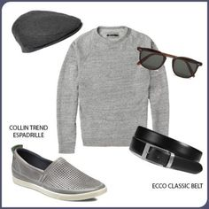 ECCO Collin pentru EL. Slip On, Mens Fashion, Sneakers, Outfits, Shoes, Moda Masculina, Trainers, Outfit, Shoes Outlet