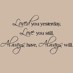 A beautiful sentiment to feature on the wall for a wedding celebration
