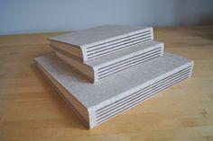7 x 7 Square Album – Hinged Strung Stitched - Custom Portfolios and Albums Made in Portland, Oregon