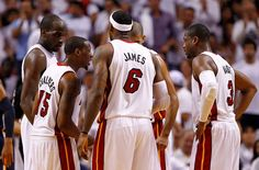 Miami Heat are expected to be without LeBron James, Dwyane Wade, Mario Chalmers and Ray Allen because of various injuries for tomorrow's road game against the Charlotte Bobcats.