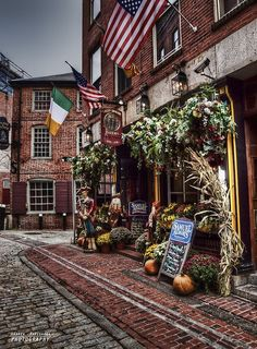 Old Town Boston, Massachusetts