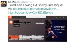 Exiled Asia loving the Jamiroquai Mix by @dj_spivey_radio listen here https://soundcloud.com/djspivey/jamiroquai-the-remix-project?in=exiled-asia/sets/exiled-asia-mixes #jamiroquai #jaykay #jaykay #jasonkay #Jamiroquai