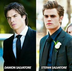 The vampire diaries Salvatores