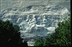 Stone Mountain - the laser show is one of my favorite spring traditions when it is warm at night.