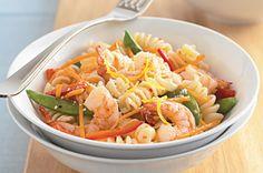 Quick & Easy Shrimp Primavera recipe