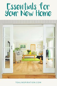 Essentials for Your New Home