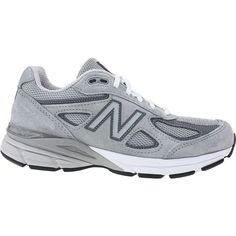 New Balance Wide Running Shoes Grey White Wolf Grey All Sizes 92d9fd1fd