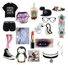"""""""Penny boarding at night and meeting 5sos too"""" by janay-hood ❤ liked on Polyvore featuring Under Armour, Disney, Bobbi Brown Cosmetics, Converse, Charlotte Russe, Bling Jewelry and MANGO"""