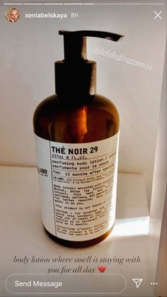 The Noir, Body Lotion, Soap, Bottle, Makeup, How To Make, Products, The Body, Maquillaje