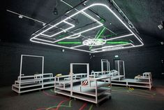 wilson brothers: 'raise your game' installation for nike's east london 1948 space