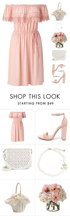 """Wedding"" by genesis129 ❤ liked on Polyvore featuring Miss Selfridge, Steve Madden, Under One Sky, Kate Spade and Diane James"