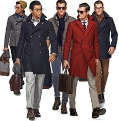 Stylish Dapper men; look for similar jackets
