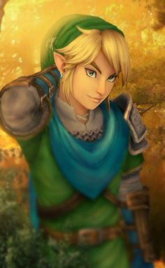 Snazzy Link // This is one of the pictures in Cia's castle :)