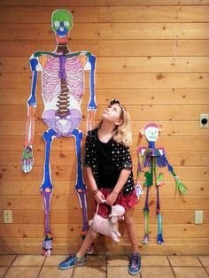 We're learning about the skeletal system, and we found this awesome resource of FREE printables - including a child AND adult life size skeleton! Also has puzzles, word finds, activities, and anatomy comparisons to other animals. A really great resource, I thought I'd share: http://www.eskeletons.org/resources