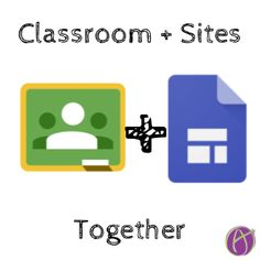 Use Google Classroom with New Google Sites. Use sites to visually represent your lesson, link back to Google Classroom.
