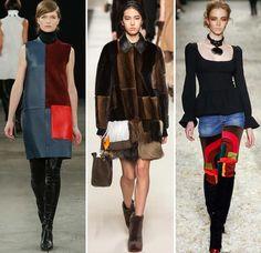модные луки с замшевой юбкой - Поиск в Google