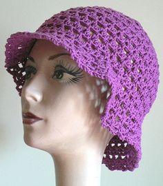 Head Huggers: Crochet Pattern: Blooming Sun Hat