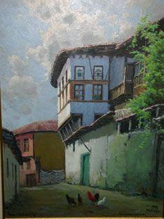 ahmet yakupoğlu - Google'da Ara Oil Paintings, Old Houses, Painters, Projects To Try, Google, Art, Art Background, Old Homes, Kunst