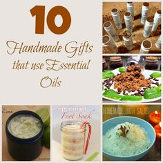 10 Handmade Gifts Using Essential Oils