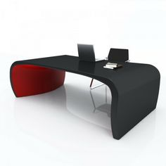 A table with ergonomic and tapered shapes. It is a two-feeted table. The support part remembers in its shape, the caudal fin of some cetaceans. The marine world indeed, suggested the name given to this table - desk. #homefurniture