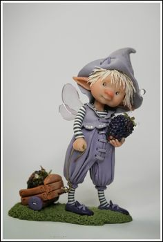*POLYMER CLAY ~ enaidsword: Fairy Puppets